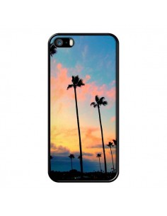 Coque California Californie USA Palmiers pour iPhone 5 et 5S - Tara Yarte