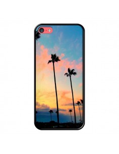 Coque California Californie USA Palmiers pour iPhone 5C - Tara Yarte