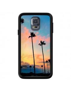 Coque California Californie USA Palmiers pour Samsung Galaxy S5 - Tara Yarte