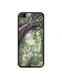 Coque Get lost with him Paysage Foret Palmiers pour iPhone 5 et 5S - Tara Yarte