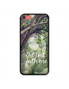Coque Get lost with him Paysage Foret Palmiers pour iPhone 5C - Tara Yarte