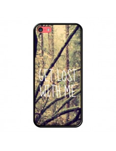 Coque Get lost with me foret pour iPhone 5C - Tara Yarte