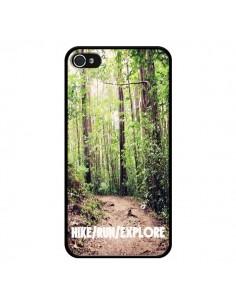 Coque Hike Run Explore Paysage Foret pour iPhone 4 et 4S - Tara Yarte