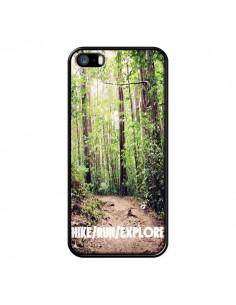 Coque Hike Run Explore Paysage Foret pour iPhone 5 et 5S - Tara Yarte