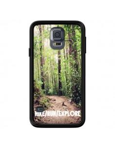 Coque Hike Run Explore Paysage Foret pour Samsung Galaxy S5 - Tara Yarte