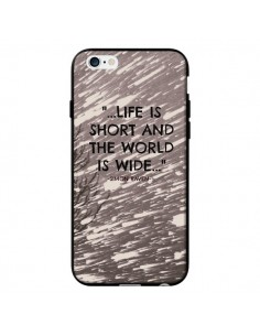 Coque Life is short Foret pour iPhone 6 - Tara Yarte