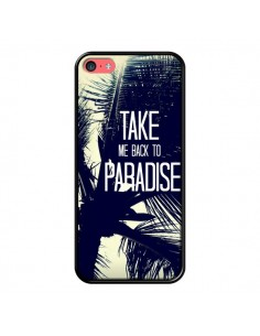 Coque Take me back to paradise USA Palmiers pour iPhone 5C - Tara Yarte