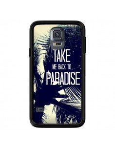 Coque Take me back to paradise USA Palmiers pour Samsung Galaxy S5 - Tara Yarte
