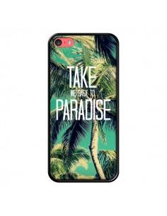 Coque Take me back to paradise USA Palmiers Palmtree pour iPhone 5C - Tara Yarte