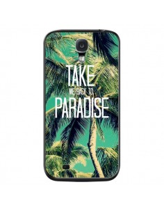 Coque Take me back to paradise USA Palmiers Palmtree pour Samsung Galaxy S4 - Tara Yarte