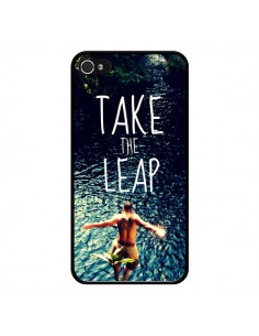 Coque Take the leap Saut pour iPhone 4 et 4S - Tara Yarte