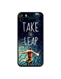 Coque Take the leap Saut pour iPhone 5 et 5S - Tara Yarte