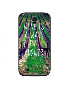 Coque Wine is always the answer Vin pour Samsung Galaxy S4 - Tara Yarte