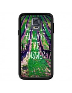 Coque Wine is always the answer Vin pour Samsung Galaxy S5 - Tara Yarte