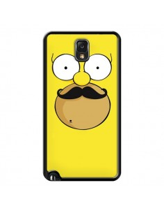 Coque Homer Movember Moustache Simpsons pour Samsung Galaxy Note III - Bertrand Carriere