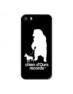 Coque Chien d'Ours Records Musique pour iPhone 5 et 5S - Bertrand Carriere