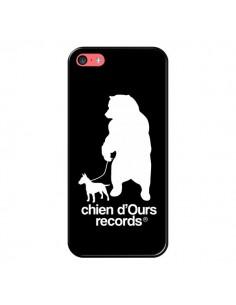 Coque Chien d'Ours Records Musique pour iPhone 5C - Bertrand Carriere