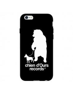 Coque Chien d'Ours Records Musique pour iPhone 6 - Bertrand Carriere