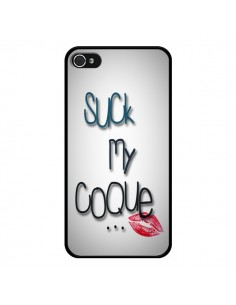 Coque Suck my coque Lips Bouche Lèvres pour iPhone 4 et 4S - Bertrand Carriere