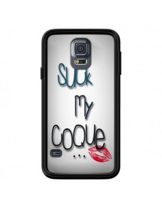 Coque Suck my coque Lips Bouche Lèvres pour Samsung Galaxy S5 - Bertrand Carriere
