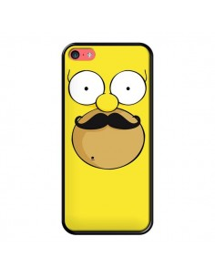Coque Homer Movember Moustache Simpsons pour iPhone 5C - Bertrand Carriere