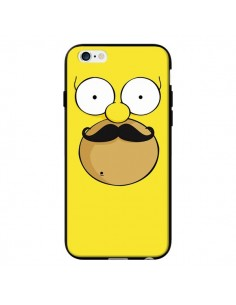 Coque Homer Movember Moustache Simpsons pour iPhone 6 - Bertrand Carriere