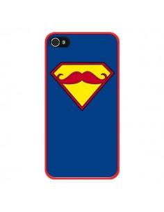 Coque Super Moustache Movember Superman pour iPhone 4 et 4S - Bertrand Carriere