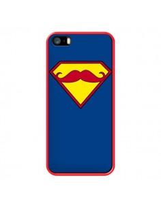 Coque Super Moustache Movember Superman pour iPhone 5 et 5S - Bertrand Carriere