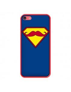 Coque Super Moustache Movember Superman pour iPhone 5C - Bertrand Carriere