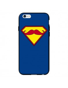 Coque Super Moustache Movember Superman pour iPhone 6 - Bertrand Carriere
