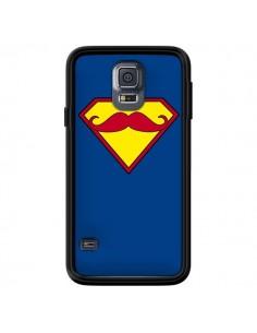Coque Super Moustache Movember Superman pour Samsung Galaxy S5 - Bertrand Carriere