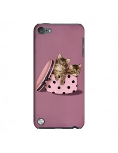 Coque Chaton Chat Kitten Boite Pois pour iPod Touch 5 - Maryline Cazenave