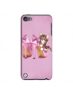 Coque Chaton Chat Kitten Chaussure Shoes pour iPod Touch 5 - Maryline Cazenave