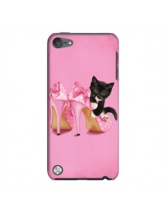 Coque Chaton Chat Noir Kitten Chaussure Shoes pour iPod Touch 5 - Maryline Cazenave