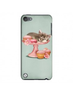 Coque Chaton Chat Kitten Cookies Cupcake pour iPod Touch 5 - Maryline Cazenave