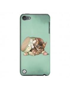 Coque Chaton Chat Kitten Boite Bonbon Candy pour iPod Touch 5 - Maryline Cazenave
