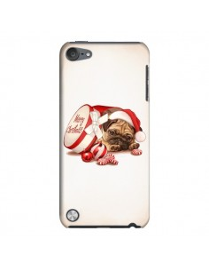 Coque Chien Dog Pere Noel Christmas Boite pour iPod Touch 5 - Maryline Cazenave