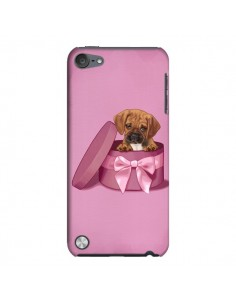 Coque Chien Dog Boite Noeud Triste pour iPod Touch 5 - Maryline Cazenave