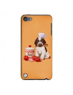 Coque Chien Dog Pates Pasta Cuisinier pour iPod Touch 5 - Maryline Cazenave