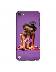 Coque Chien Dog Halloween Sorciere Bonbon pour iPod Touch 5 - Maryline Cazenave