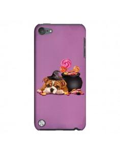 Coque Chien Dog Halloween Sorciere Chaudron Bonbon pour iPod Touch 5 - Maryline Cazenave