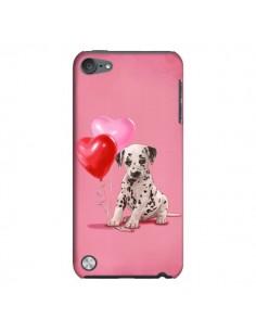 Coque Chien Dog Dalmatien Ballon Coeur pour iPod Touch 5 - Maryline Cazenave
