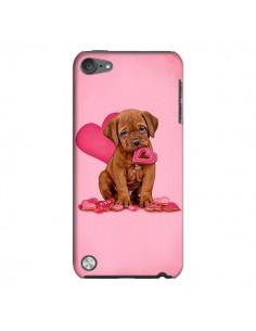 Coque Chien Dog Gateau Coeur Love pour iPod Touch 5 - Maryline Cazenave