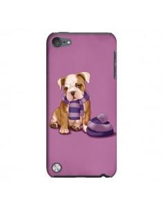 Coque Chien Dog Echarpe Bonnet Froid Hiver pour iPod Touch 5 - Maryline Cazenave