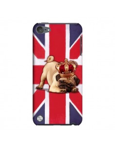 Coque Chien Dog Anglais UK British Queen King Roi Reine pour iPod Touch 5 - Maryline Cazenave