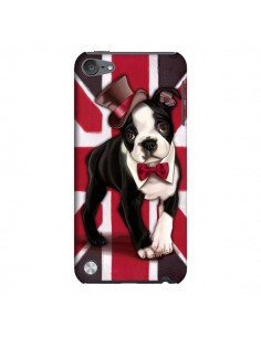 Coque Chien Dog Anglais UK British Gentleman pour iPod Touch 5 - Maryline Cazenave