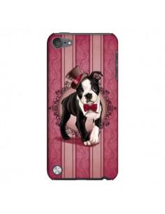 Coque Chien Dog Gentleman Noeud Papillon Chapeau pour iPod Touch 5 - Maryline Cazenave