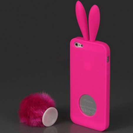 Coque Lapin pour iPhone 5