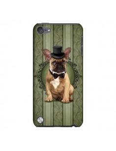 Coque Chien Dog Bulldog Noeud Papillon Chapeau pour iPod Touch 5 - Maryline Cazenave