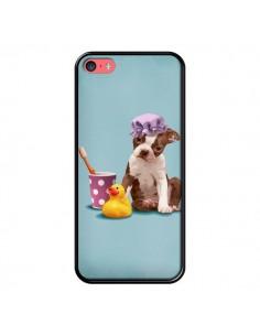 Coque Chien Dog Canard Fille pour iPhone 5C - Maryline Cazenave